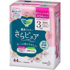 ロリエ さらピュア スリムタイプ 3cc 緑茶消臭(44枚入)(発送可能時期:5-7日(通常))[尿漏れ・尿失禁]