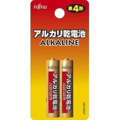 富士通アルカリ乾電池 単4 2本パック(1セット)(発送可能時期:通常3-5日で発送予定)[電池・充電池・充電器]
