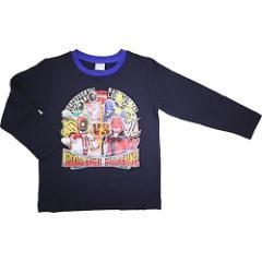 68641 快盗戦隊ルパンレンジャーVS警察戦隊パトレンジャー 長袖TシャツA 110 ブラック(1枚入)(発送可能時期:1週間-10日(通常))[雑貨]