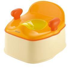 【企画品】ポッティス イス型おまる オレンジ(1コ入)(発送可能時期:1週間-10日(通常))[おまる]