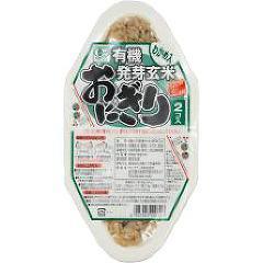 コジマフーズ 有機発芽玄米おにぎり わかめ(90g*2コ入)(発送可能時期:通常3-5日で発送予定)[発芽玄米]