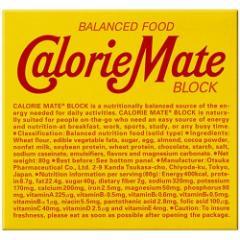 カロリーメイト ブロック チョコレート味(4本入(80g))(発送可能時期:3-5日(通常))[バランス 栄養]