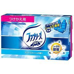 クルマ用置き型ファブリーズ アクアスカッシュの香り つけかえ用(130g)[車用 消臭・芳香剤]