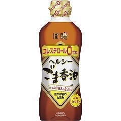 日清 ヘルシーごま香油(350g)(発送可能時期:通常3-5日で発送予定)[胡麻油]