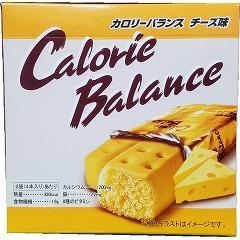 カロリーバランス チーズ(4本入(76g))(発送可能時期:1週間-10日(通常))[ビスケット・クッキー]