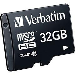 バーベイタム microSDカード 32GB CLass10 MHCN32GJVZ2(1枚入)(発送可能時期:1週間-10日(通常))[情報家電 その他]