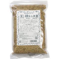 桜井食品 オーガニック 緑レンズ豆(500g)(発送可能時期:3-5日(通常))[胡麻(ごま)・豆]