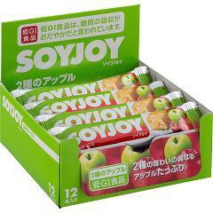 SOYJOY(ソイジョイ) 2種のアップル(30g*12本入)(発送可能時期:通常1-3日で発送予定)[バランス 栄養]