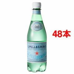 サンペレグリノ ペットボトル 炭酸水(500mL*24本入*2コセット)(発送可能時期:1週間-10日(通常))[海外ミネラルウォーター]【送料無料】