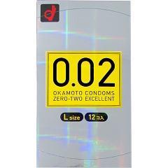 コンドーム/0.02EX Lサイズ(12コ入)(発送可能時期:1週間-10日(通常))[コンドーム うすうす]