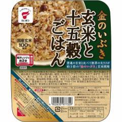金のいぶき 玄米と十五穀ごはん JR-4(160g)(発送可能時期:1週間-10日(通常))[ライス・お粥]