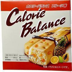カロリーバランス フルーツ(4本入(76g))(発送可能時期:1週間-10日(通常))[ビスケット・クッキー]