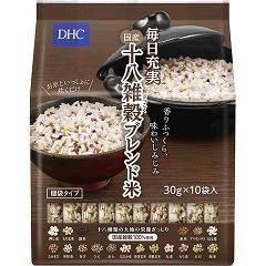 【訳あり】DHC 毎日充実 国産十八雑穀ブレンド米 個装タイプ(30g*10袋入)(発送可能時期:通常3-5日で発送予定)[ダイエットフード その他]