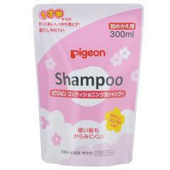ピジョン コンディショニング泡シャンプー フローラルの香り 詰めかえ用(300mL)(発送可能時期:3-7日(通常))[ベビーシャンプー]