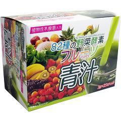 82種の野菜酵素 フルーツ青汁(3g*25スティック)(発送可能時期:3-7日(通常))[青汁・ケール]