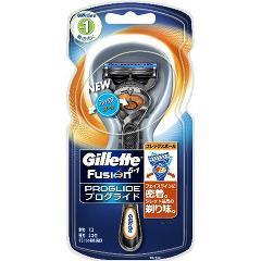ジレット プログライド フレックスボール マニュアルホルダー 髭剃り(ホルダー+替刃2コ入)[カミソリホルダー]