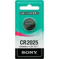 ソニー CR2025-ECO リチウムコイン電池 3.0V 水銀ゼロシリーズ(1コ入)(発送可能時期:3-7日(通常))[電池・充電池・充電器]