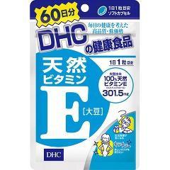 DHC 天然ビタミンE(大豆) 60日分(60粒)[ビタミンE]