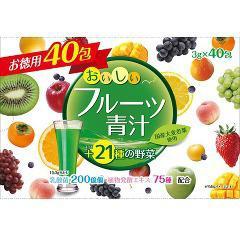 おいしいフルーツ青汁(3g*40包)(発送可能時期:1週間-10日(通常))[青汁・ケール]