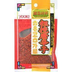ユウキ食品 粗挽唐辛子(チャック付)(30g)(発送可能時期:1週間-10日(通常))[香辛料]