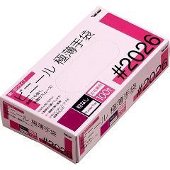 グローブマニア ビニール使い切り手袋 粉なし 2026 クリア M(100枚入)(発送可能時期:通常3-5日で発送予定)[ポリエチレン手袋]