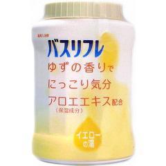 バスリフレ 薬用入浴剤 ゆずの香り(680g)(発送可能時期:通常3-5日で発送予定)[入浴剤 その他]