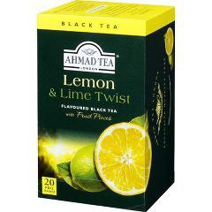 アーマッド フルーツティー ティーバッグ レモン&ライム(2g*20包)(発送可能時期:通常5-7日で発送予定)[紅茶]