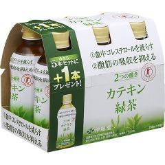 2つの働きカテキン緑茶(350mL*5本+1本*4セット)(発送可能時期:1週間-10日(通常))[トクホのお茶]
