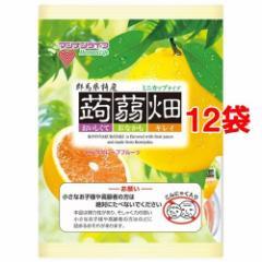蒟蒻畑 ピンクグレープフルーツ味(25g*12コ入*12コセット)[ダイエットゼリー]
