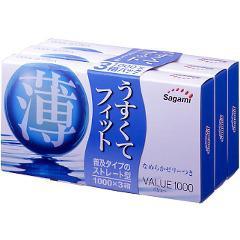 コンドーム バリュー 1000(12コ*3コ入)(発送可能時期:通常5-7日で発送予定)[コンドーム うすうす]