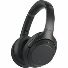 ソニー ワイヤレスステレオヘッドセット WH-1000XM3 ブラック(1コ入)(発送可能時期:通常3-7日で発送予定)[ヘッドセット・イヤホン類]