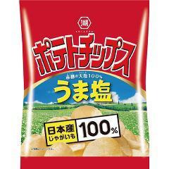 湖池屋 小袋ポテトチップス うま塩(28g)(発送可能時期:3-7日(通常))[スナック菓子]