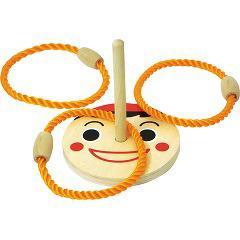 木製わなげあそび(ピノキオ)(1セット)(発送可能時期:1週間-10日(通常))[ベビー玩具・赤ちゃんおもちゃ その他]