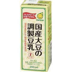 マルサン 国産大豆の調製豆乳 41580(200mL)(発送可能時期:1-5日(通常))[豆乳]