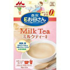 Eお母さん ミルクティ風味(18g*12本入)(発送可能時期:3-7日(通常))[ママミルク]