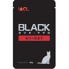ブラック カツオ・マグロ ゼリー仕立て(60g)(発送可能時期:1週間-10日(通常))[キャットフード(ウェット)]