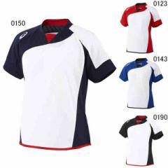 アシックス ウィメンズ ソフトボールシャツ(半袖) BAD300