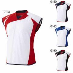 アシックス ウィメンズ ソフトボールシャツ(フレンチスリーブ) BAD301