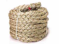 カネヤ PPクロス綱引ロープ45mm(1mあたり) K-1602