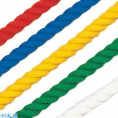 カネヤ 5色運動遊びロープ3m K-3096