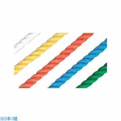 カネヤ 5色運動遊びロープ3ST K-3108