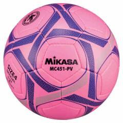 ミカサ サッカー サッカーボール4号 サッカーボール検定球4号 ピンク MIKASA MC451-PV