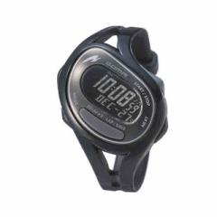 ソーマ 腕時計 スポーツウォッチ  レディースサイズ RunONE 50 ランワン 50 ブラック×グレイ SOMA DWJ23-0001