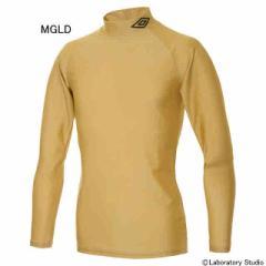 アンブロ L/S パワーインナーシャツ(メタリックゴールド) UAS9300-MGLD