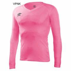 アンブロ L/S パワーインナー Vネックシャツ(Vピ...