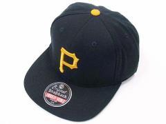アメリカンニードル AMERICAN NEEDLE スナップバックキャップ 1949 ピッツバーグ パイレーツ ブラック (Pittsburgh Pirates)