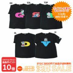 30%OFF KRUNK × BIGBANG Tシャツ ビッグT-SHIRTS FXXK IT ビッグバン キャラクターグッズ  SALE 6/4朝10時まで