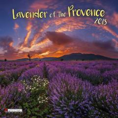 SALE 2018 カレンダー Lavender of the Provence プロヴァンスのラベンダー畑 TUSHITA  インテリア2018 Calendar平成 30年 暦 通販