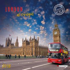 SALE 2018 カレンダー LONDON AT TWILIGHT ロンドンの黄昏 TUSHITA  インテリア2018 Calendar平成 30年 暦 通販
