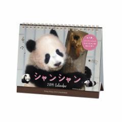 シャンシャン パンダ カレンダー2019年 卓上サイズ 上野動物園 動物 写真 書き込み平成31年 暦 予約 メール便可  cp100